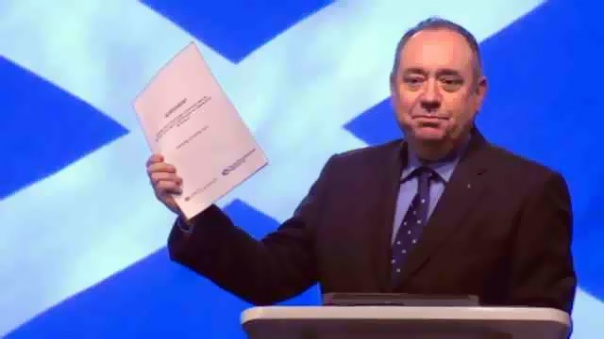 Alex Salmond is not a man of high principal, but rather one who fancies a grander title than that of First Minister.