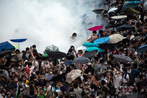 A Tiananmen Square solution to the protests is no longer an option in this media savvy world.