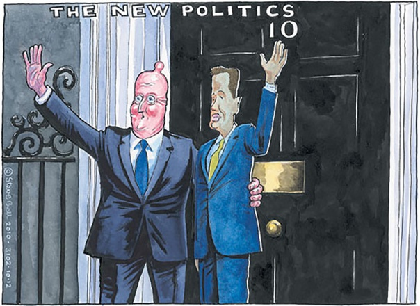 The ruling class have failed properly to grasp the sheer scale and magnitude of public anger at them. Image © Steve Bell.