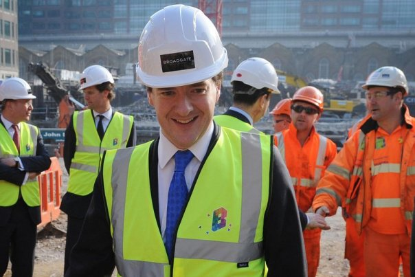 The chancellor talks about helping people buy their own homes, but he knows which side his bread is buttered.