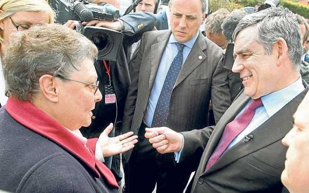 Gordon Brown demonstrated the disconnect between politicians and the public when he labeled lifelong Labour supporter Gillian Duffy a bigot for broaching the subject in 2010.