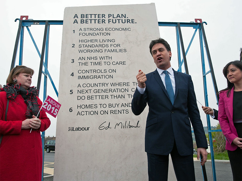 The Ed Stone must have been ordered weeks before it was announced, all 2.6 metres and £30,000 worth of it. And the monster wasn't going to be installed at Labour party headquarters, but in the rose garden of Downing Street, for God's sake.