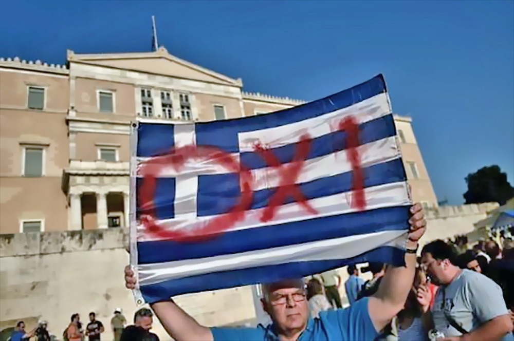If the Greeks vote no, they face not just potential mayhem but a complete national shutdown. Yet the majority of economists actually believe this course would serve the country best.