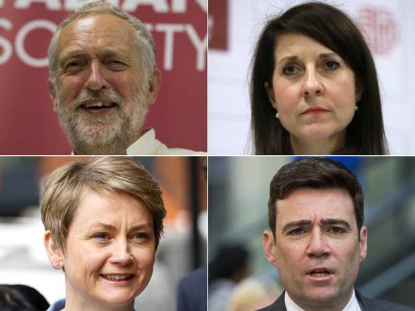 There is a complete absence in the Labour leadership contest of what we like to call the 'big beasts'. They're all minnows.
